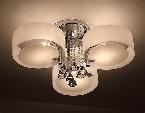 illuminazione da soffitto ladario da soffitto con 3 punti luce circolari