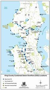 CSO locations in King County - King County