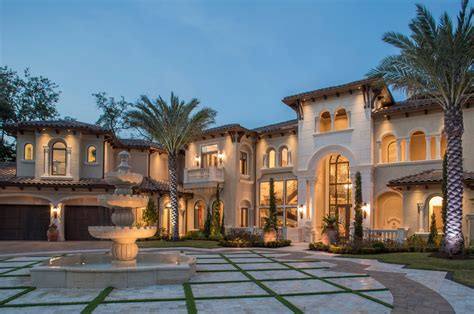 Mansions Designs by Berrios Designs They Specialize In Mediterranean