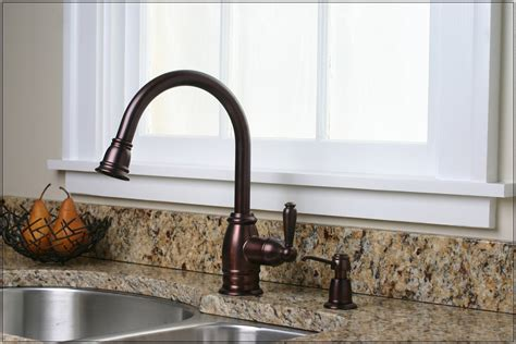 bronze kitchen faucet with stainless sink bronze faucet with stainless steel sink 9317