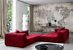 wohnzimmer ideen wand streichen moderne zimmerfarben ideen in 150 unikalen fotos archzine net