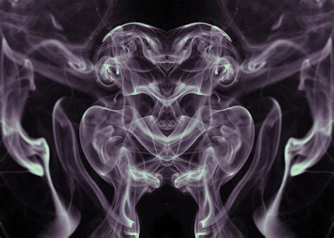 smoky alien reflection  backgrounds  textures