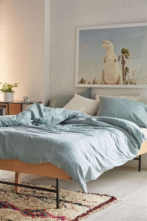 Assembly Home Linen Blend Duvet Cover  Urban Outfitters