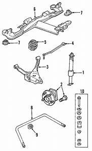 Oem 2006 Buick Lucerne Rear Suspension Parts