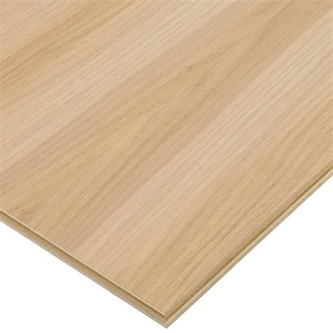 home depot flooring plywood columbia forest products 3 4 in x 2 ft x 8 ft purebond white oak plywood project panel free