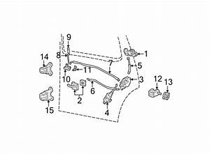 Ford Explorer Door Latch Assembly  Right  Rear  Lock