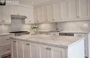 Ideas for tile backsplash quartz countertops flooring for Ideas for kitchen backsplash with quartz countertops