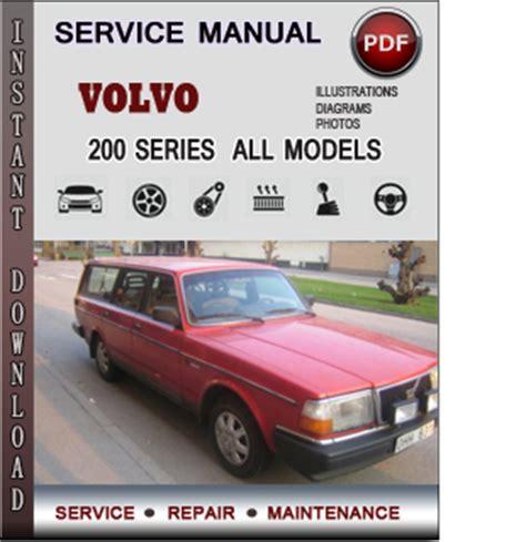 volvo  series  service repair manual