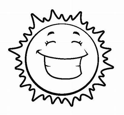 Sun Happy Coloring Coloringcrew