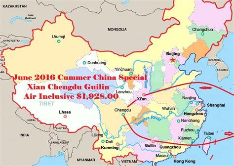 xian guilin chengdu china tours special