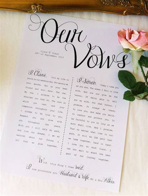 hold writing  wedding vows nyc