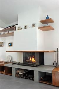Transformer Une Cheminée Rustique En Moderne : relooker une cheminee classique trendy moderniser une chemin e avec relooker une cheminee idees ~ Farleysfitness.com Idées de Décoration