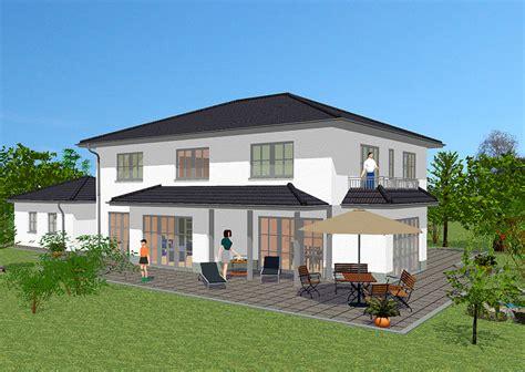 Stadtvilla Mit Dachterrasse by Massivhaus In Medtierranen Stil Mit 239 M 178 Wohnfl 228 Che