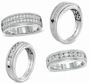 diamond wedding rings for men no longer just for women With vera wang men s wedding rings