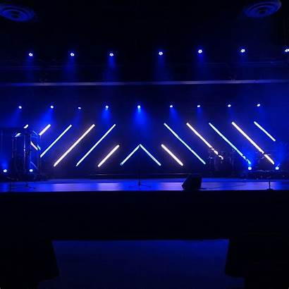 Stage Church Led Simple Tape Lighting Homemade