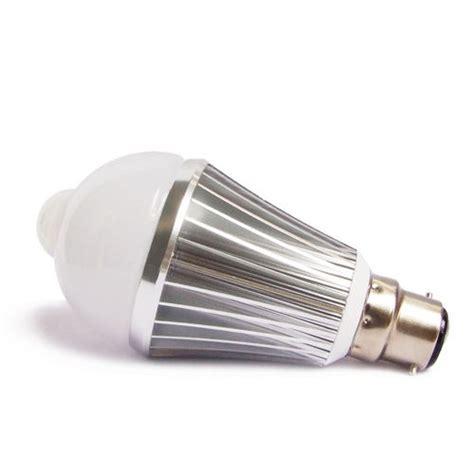 7w led security pir motion sensor light bulb warm cool