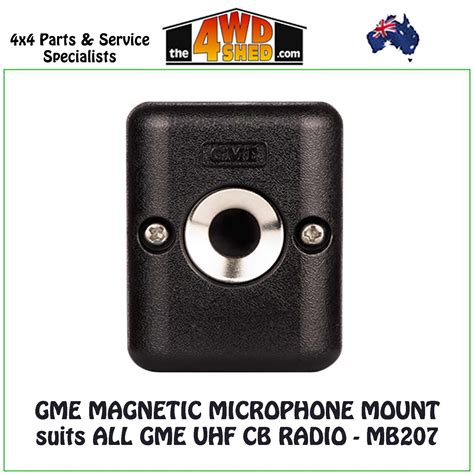 GME Magnetic Microphone suits All GME UHF CB Radio