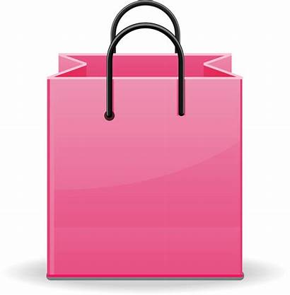 Bag Shopping Transparent Clipart Gift Reusable Clipground