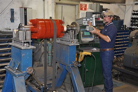 Electric Motor Shop by Predictive Preventative Reliability Based Electric