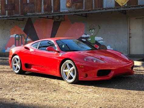 360 Modena For Sale 2000 360 modena 6 speed for sale on bat auctions