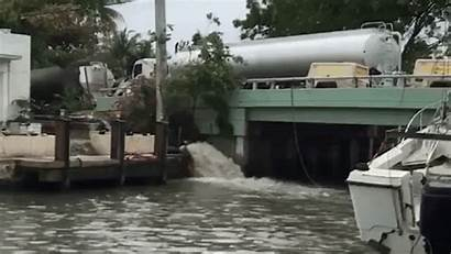 Sewage Lauderdale Sun Sentinel Fort Spill Florida