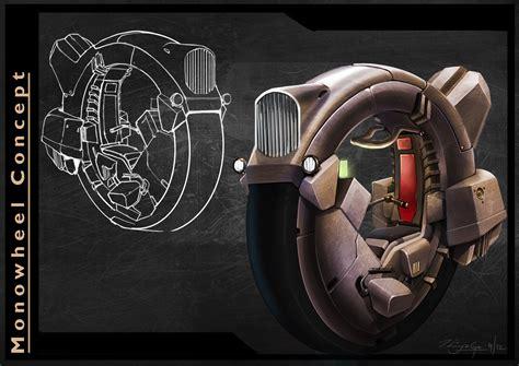 thiyaga concept design monowheel design