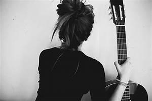 back, black, black and white, fashion, girl - image ...