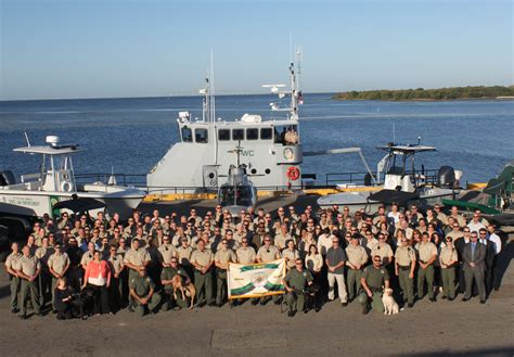 wildlife florida fish conservation commission manatee port officers hosts meeting annual