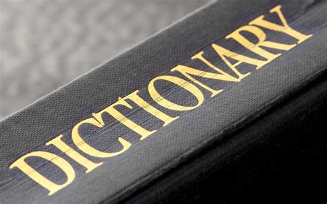 The Word In The Dictionary That Doesn't Actually