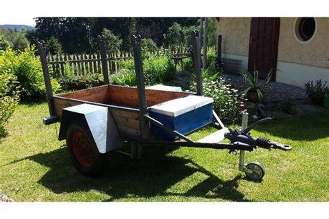 1 achs anhänger für traktor gebraucht anh 228 nger f 252 r traktor neuaufbau