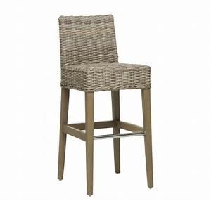 Tabouret De Bar En Rotin : chaise en bois pouf rotin teck tabouret bois lecomptoirdesauthentics ~ Teatrodelosmanantiales.com Idées de Décoration