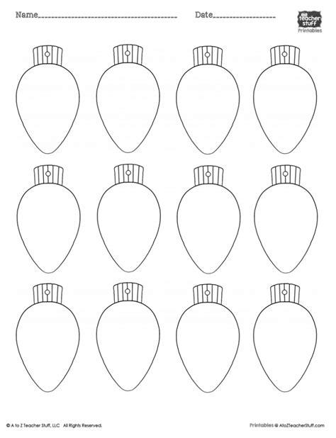 christmas light bulb template printable christmas lights 12 more printable christmas