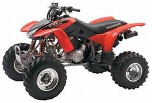 Honda Trx400ex Trx400x Fourtrax Sportrax Manual