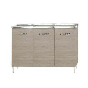 lavello e sottolavello per cucina mobile sottolavello per cucina larice grigio base lavello