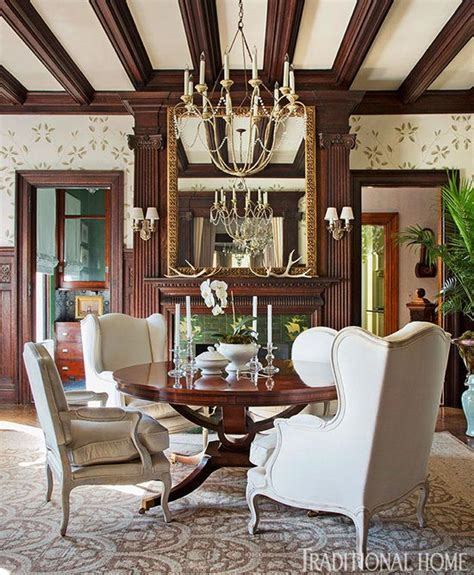 dramatic showhouse rooms traditional home
