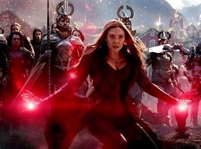 Endgame Avengers Marvel Witch Wanda Maximoff Scarlet