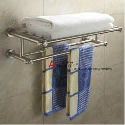 Bathroom Shelf With Towel Bar Brushed Nickel by Wall Mount Stainless Steel Nickel Brushed Bathroom Bath