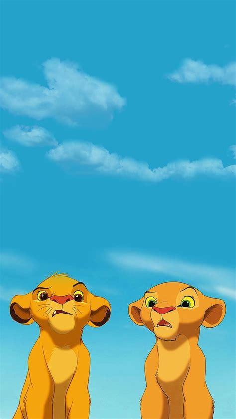 il  leone simba  dipinti disney cartoni animati