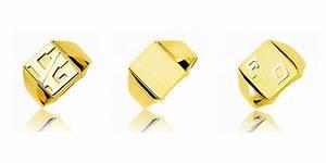 Chevalière En Or Pour Homme : chevaliere homme or jaune l 39 anneau traditionnel du m le ~ Dode.kayakingforconservation.com Idées de Décoration