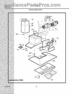 Parts For Electrolux Plhv36w7cc  Replacement Parts