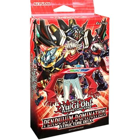 yu gi oh tcg pendulum domination structure deck