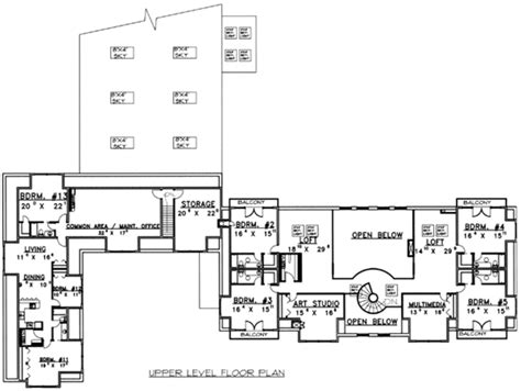 15 Bedroom House Plans by European Style House Plan 15 Beds 13 Baths 26337 Sq Ft