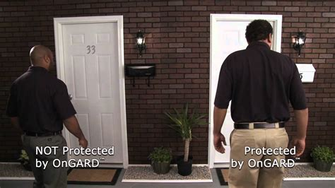 how to secure a door from being kicked in home security door stop the ongard brace prevents