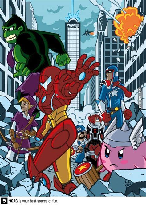 Nintendo Avengers Comics Avengers Nintendo Super