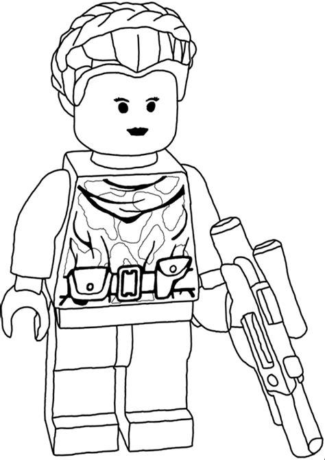 stare disegni da colorare gratis lego leila disegni da colorare wars disegni da