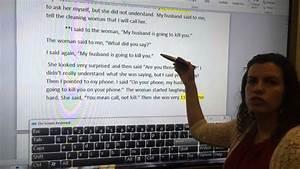 Narrative Essay Examples Narrative Essay Example 2 Youtube