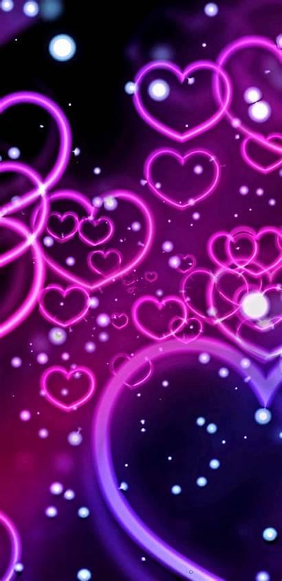 Heart Phone Purple Iphone Wallpapers Cool Phones