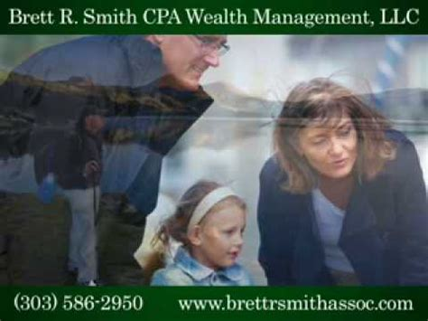 brett  smith cpa wealth management llc youtube