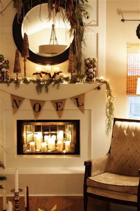 fireplace candle ideas faux fireplace craft s pinterest fireplaces mirror and candles
