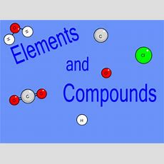 Smart Exchange  Usa  Elements And Compounds